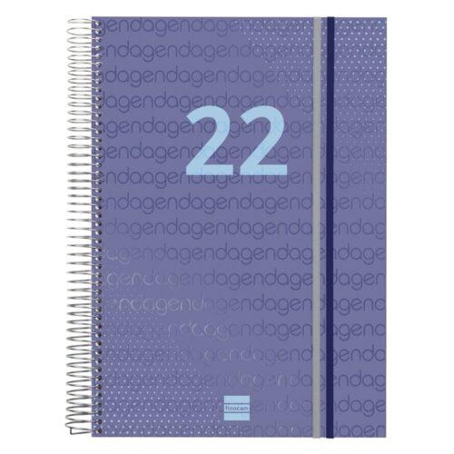 AGENDA FINOCAM YEAR E40 1DP 2022 AZUL+