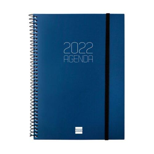 AGENDA FINOCAM OPAQUE E10 SV 2022 AZUL+